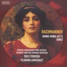 Sergej Rachmaninoff (1873-1943): Monna Vanna (unvollendete Oper), CD