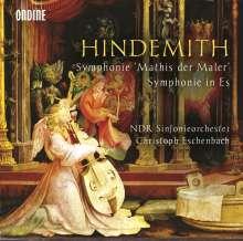 "Paul Hindemith (1895-1963): Symphonie ""Mathis der Maler"", CD"