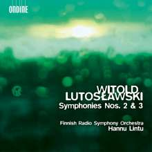 Witold Lutoslawski (1913-1994): Symphonien Nr.2 & 3, Super Audio CD