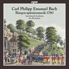 Carl Philipp Emanuel Bach (1714-1788): Bürgercapitainsmusik 1780, CD