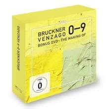 Anton Bruckner (1824-1896): Symphonien Nr.0-9, 10 CDs und 1 DVD