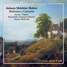 Johann Melchior Molter (1696-1765): Sinfonias & Arien, CD