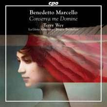 Benedetto Marcello (1686-1739): Geistliche Musik - Conserva me Domine, CD