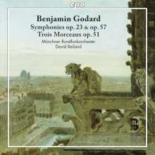 """Benjamin Godard (1849-1895): Symphonien op.23 """"Gothique"""" & op.57, CD"""