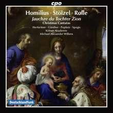 """Gottfried August Homilius (1714-1785): Weihnachtskantate """"Erhöhet die Tore der Welt"""", CD"""