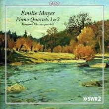Emilie Mayer (1812-1883): Klavierquartette Es-Dur & G-Dur, CD