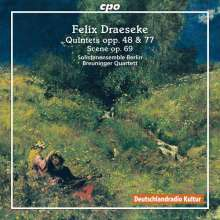 Felix Draeseke (1835-1913): Quintett op.48 für Klavier, Horn, Streichtrio, CD