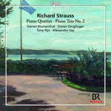 Richard Strauss (1864-1949): Klavierquartett op.13, CD