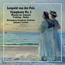 Leopold van der Pals (1884-1966): Symphonie Nr.1 fis-moll op.4, CD