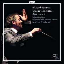 Richard Strauss (1864-1949): Aus Italien op.16, CD