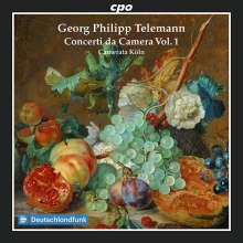 Georg Philipp Telemann (1681-1767): Concerti da Camera Vol.1, CD