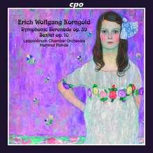 Erich Wolfgang Korngold (1897-1957): Symphonische Serenade B-Dur op.39, CD