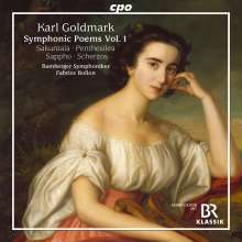 Karl Goldmark (1830-1915): Symphonische Dichtungen Vol.1, CD