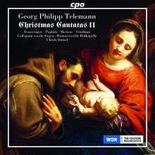 Georg Philipp Telemann (1681-1767): Weihnachtskantaten II, CD