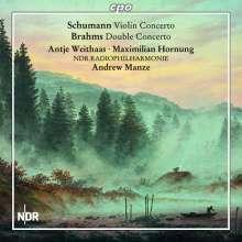 Johannes Brahms (1833-1897): Konzert für Violine,Cello & Orchester h-moll op.102, CD