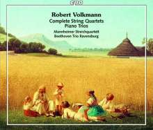 Robert Volkmann (1815-1883): Sämtliche Streichquartette & Klaviertrios, 4 CDs