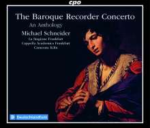 Michael Schneider - The Baroque Recorder Concerto (An Anthology), 6 CDs