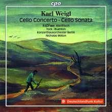 Karl Weigl (1881-1949): Cellokonzert, CD