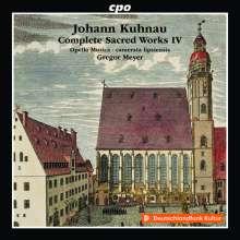 Johann Kuhnau (1660-1722): Sämtliche geistliche Werke Vol.4, CD