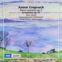 Anton Urspruch (1850-1907): Klavierkonzert op.9, 2 CDs