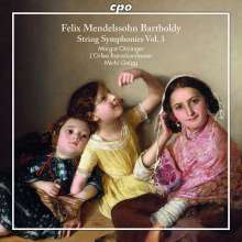 Felix Mendelssohn Bartholdy (1809-1847): Streichersymphonien Vol.3, CD
