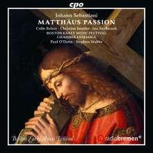 Johann Sebastiani (1622-1683): Matthäus-Passion, CD