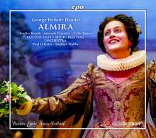 Georg Friedrich Händel (1685-1759): Almira, 4 CDs