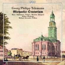 Georg Philipp Telemann (1681-1767): Oratorium zur Einweihung der neuen St. Michaelis-Kirche 1762, CD