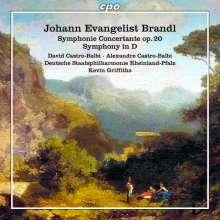 Johann Evangelist Brandl (1760-1837): Sinfonia concertante op.20, CD
