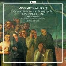 Mieczyslaw Weinberg (1919-1996): Cellokonzert op.43, CD