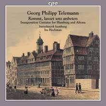 Georg Philipp Telemann (1681-1767): Einweihungskantaten für Hamburg & Altona, CD