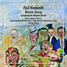 Paul Hindemith (1895-1963): Mainzer Umzug für Soli,Chor & Orchester, CD