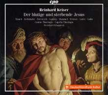 Reinhard Keiser (1674-1739): Der blutige und sterbende Jesus  (Oratorium Passionale 1705/1729), 2 CDs