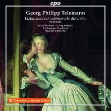 """Georg Philipp Telemann (1681-1767): Serenata TVWV 11:26 """"Liebe, was ist schöner als die Liebe"""", CD"""