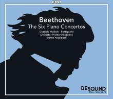 Ludwig van Beethoven (1770-1827): Sämtliche Klavierkonzerte, 3 CDs