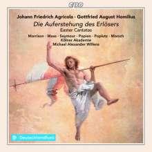 Johann Friedrich Agricola (1720-1774): Osterkantaten, CD