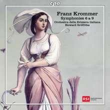 Franz Krommer (1759-1831): Symphonien Nr.6 & 9, CD