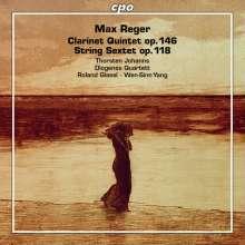 Max Reger (1873-1916): Klarinettenquintett op.146, CD
