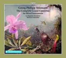 Georg Philipp Telemann (1681-1767): Konzerte für mehrere Instrumente & Orchester (cpo-Edition), 6 CDs