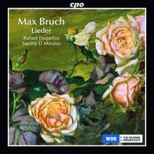 Max Bruch (1838-1920): Lieder, CD