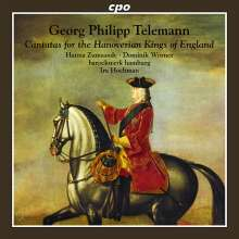 """Georg Philipp Telemann (1681-1767): Kantaten """"For the Hanoverian Kings of England"""", CD"""