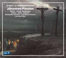 Johann Sebastian Bach (1685-1750): Johannes-Passion (Bearbeitung von Robert Schumann), 2 Super Audio CDs