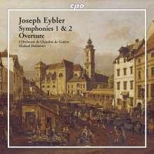 Joseph Eybler (1765-1846): Symphonien Nr.1 & 2, Super Audio CD