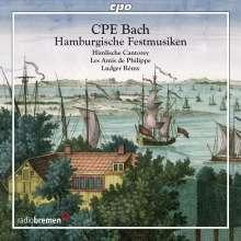 Carl Philipp Emanuel Bach (1714-1788): Hamburgische Festmusiken, CD