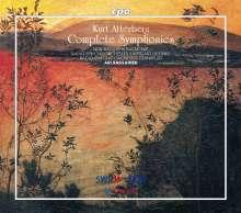 Kurt Atterberg (1887-1974): Symphonien Nr.1-9, 5 CDs