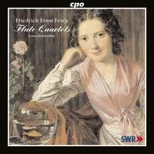 Friedrich Ernst Fesca (1789-1826): Flötenquartette op.37,38,40, CD