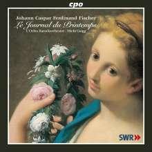 Johann Caspar Ferdinand Fischer (1656-1746): Le Journal du Printemps op.1, CD