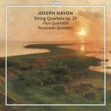 """Joseph Haydn (1732-1809): Streichquartette Nr.31-36 (op.20 Nr.1-6) """"Sonnenquartette"""", 2 Super Audio CDs"""