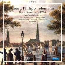 Georg Philipp Telemann (1681-1767): Hamburgische Kapitänsmusik (1724) TVWV 15:2, Super Audio CD