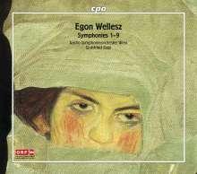 Egon Wellesz (1885-1974): Symphonien Nr.1-9, 4 CDs